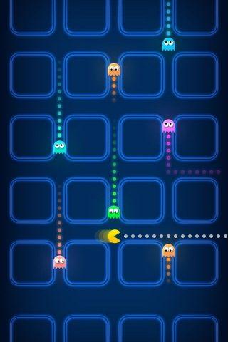 パックマンゲームゴーストスピードブラーiPhone 5/Android壁紙