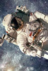 宇宙飛行士iPhone XS/Android壁紙