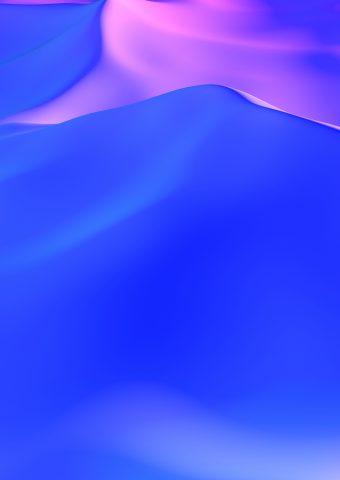 抽象的なパープルデューンズiPhone XS/Android壁紙