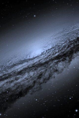 渦巻銀河iPhone X/Android壁紙