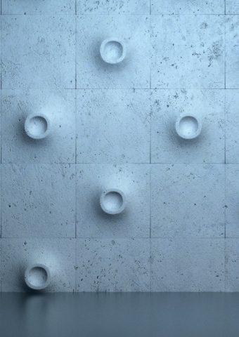 壁バルジフローリングの質感iPhone 5/Android壁紙