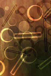 サークルバー紙のテクスチャiPhone 6/Android壁紙