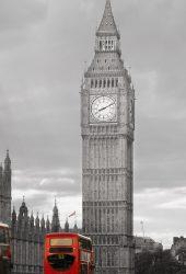 ビッグベン英国都市景観iPhone 6/Android壁紙