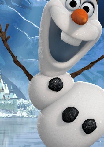 ディズニーアナと雪の女王iPhone 8 Plus/Android壁紙