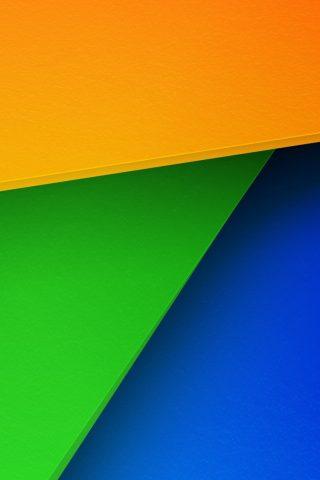 幾何学的なカラーシートiPhone 6/Android壁紙