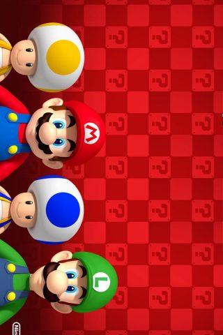 マリオとルイージ任天堂iPhone 8 Plus/Android壁紙