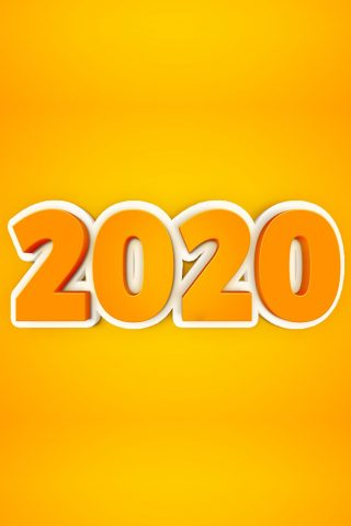 2020年新年iPhone 6/Android壁紙