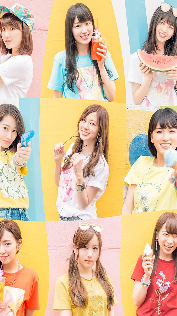 乃木坂46国際ビルボード Iphone 8 Android 芸能人壁紙 Iphoneチーズ