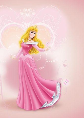 オーロラ姫 ウォルト・ディズニー iPhone 8 Plus/Android壁紙
