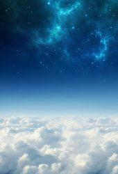 雲の上の空間 iPhone 6/Android 壁紙