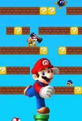 スーパーマリオゲームiPhone 8 Plus/Android壁紙