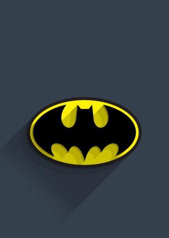 バットマンのロゴiPhone 5/Android壁紙