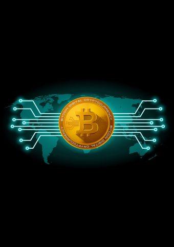 ビットコインデジタル暗号通貨スマホ壁紙