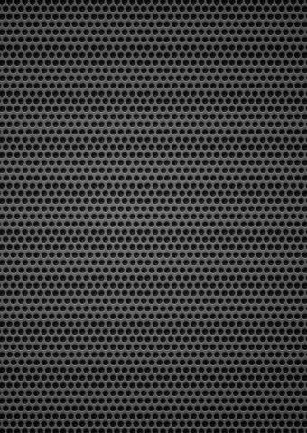 黒の背景金属穴小iPhone 6/Android壁紙