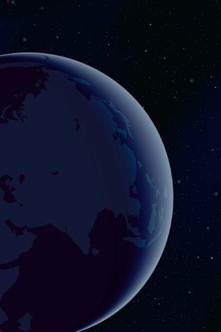 宇宙からの地球無料壁紙
