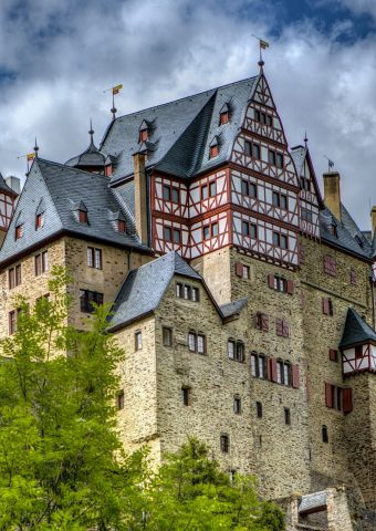 ドイツのエルツ城無料壁紙