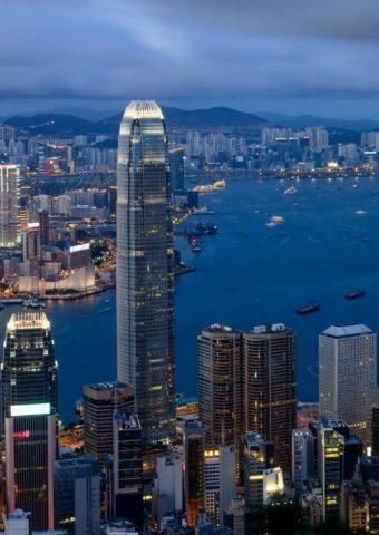 香港の建築iPhone 8 Plus/Android壁紙