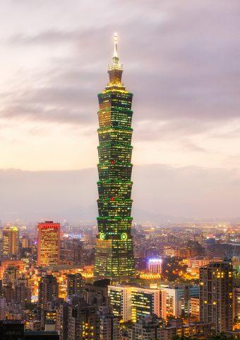 台北101世界金融センタースマホ 壁紙
