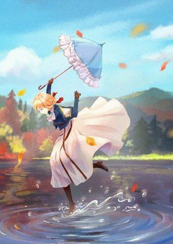 ヴァイオレット・エヴァーガーデンアニメ無料壁紙