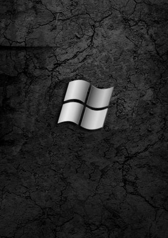 ウィンドウズブラックテクノロジースマホ 壁紙