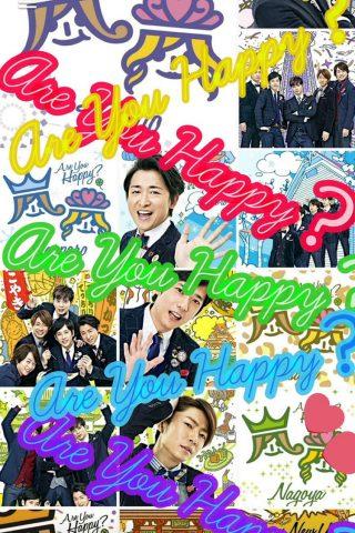 「Arashi」 嵐 ボーイ・バンドの壁紙 無料