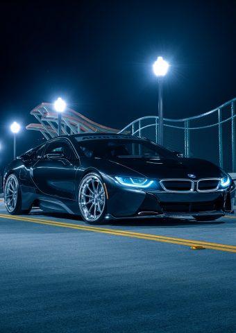BMW I8 スマホ壁紙