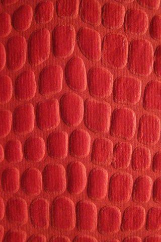 ワニ革の赤いテクスチャのスマホ壁紙