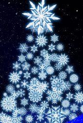 休日のクリスマスiPhone X/Android壁紙