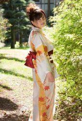 沖田杏梨で着物の無料壁紙