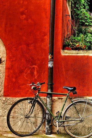 自転車iPhone壁紙