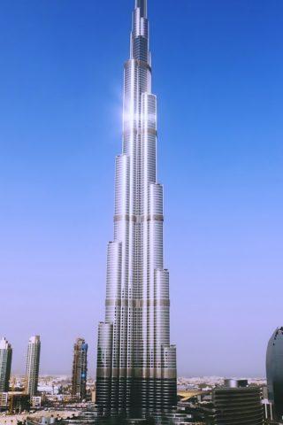 ドバイ超高層ビル、アラブ首長国連邦のモバイル壁紙