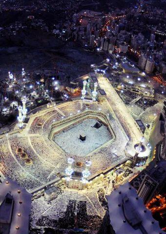 メッカの大モスクのiPhone X壁紙