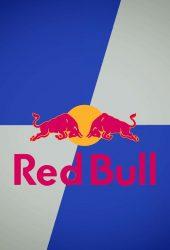 レッドブルのロゴのモバイル壁紙