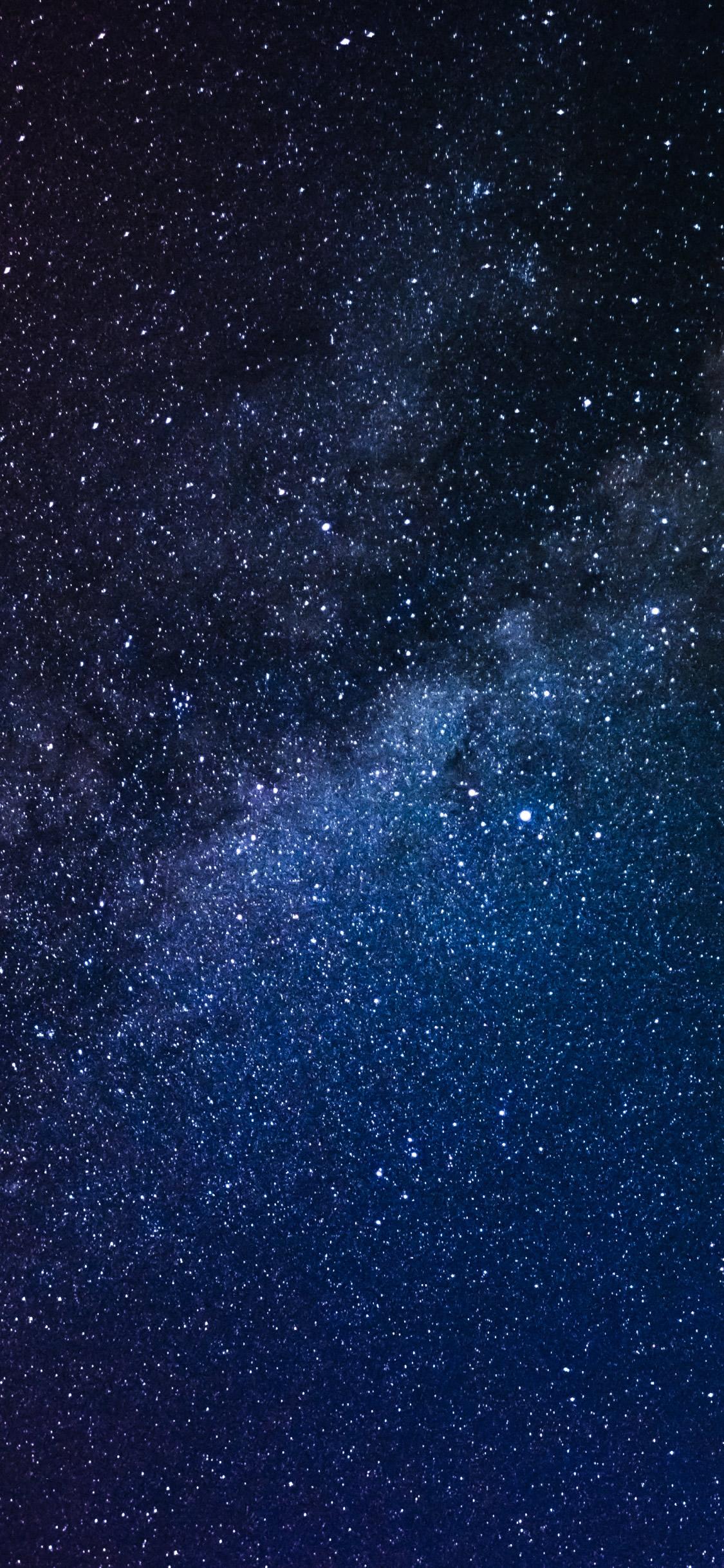 星空のスマホ壁紙