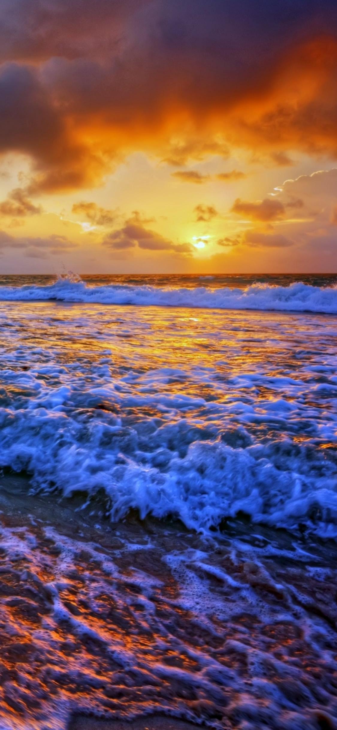 サンセットビーチのiphone X Samsung壁紙 自然 Iphoneチーズ