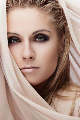 女性モデル壁紙