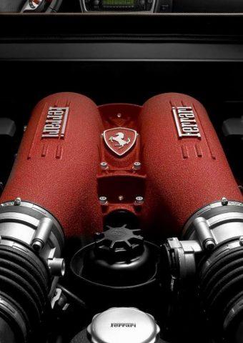 フェラーリエンジンのモバイル壁紙