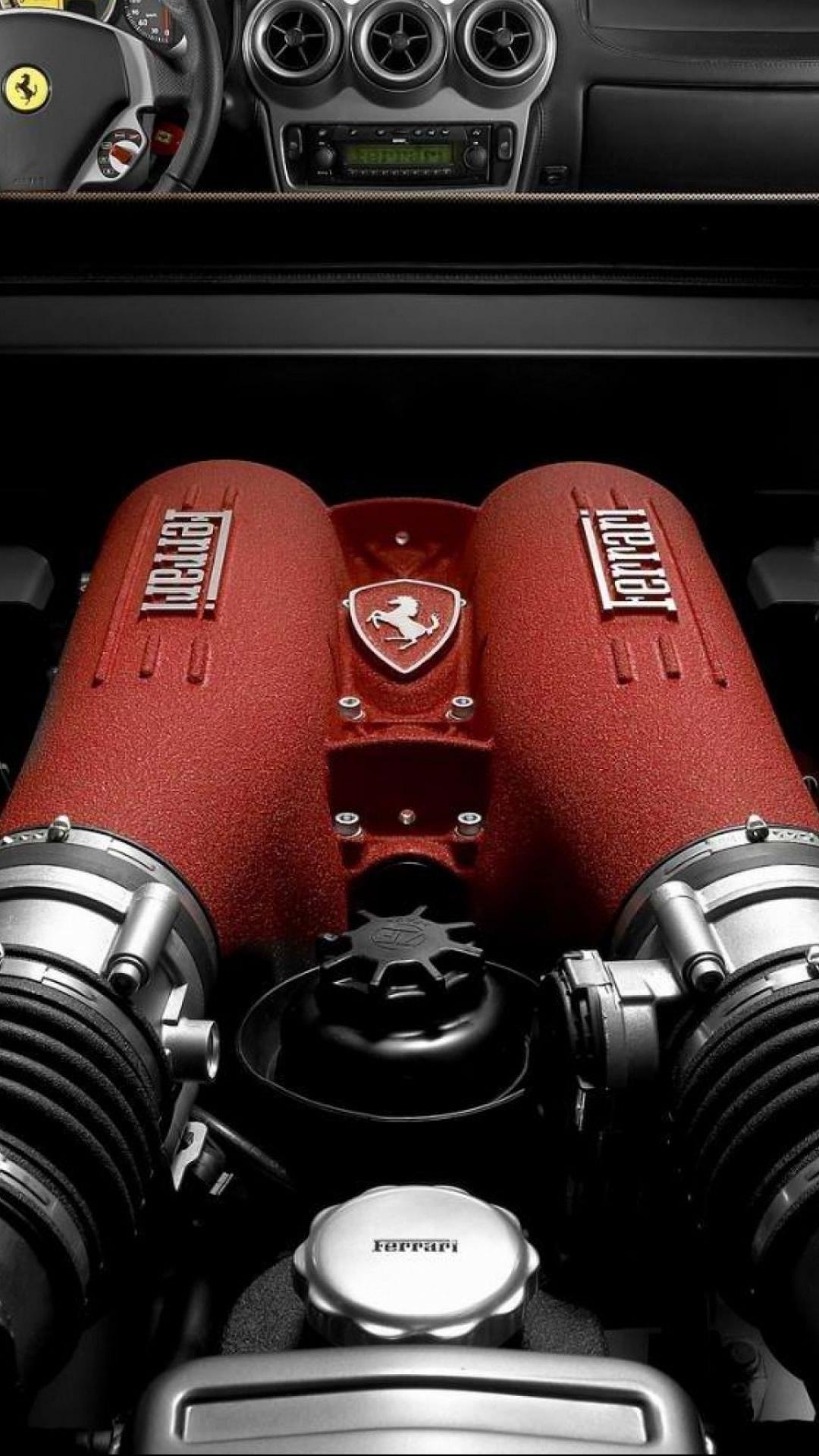 フェラーリエンジンのモバイル壁紙 1080 19 Iphoneチーズ