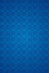 抽象的なブルーパターンのスマホ壁紙