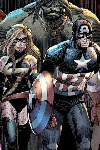 アベンジャーズのマーベル・コミックの壁紙