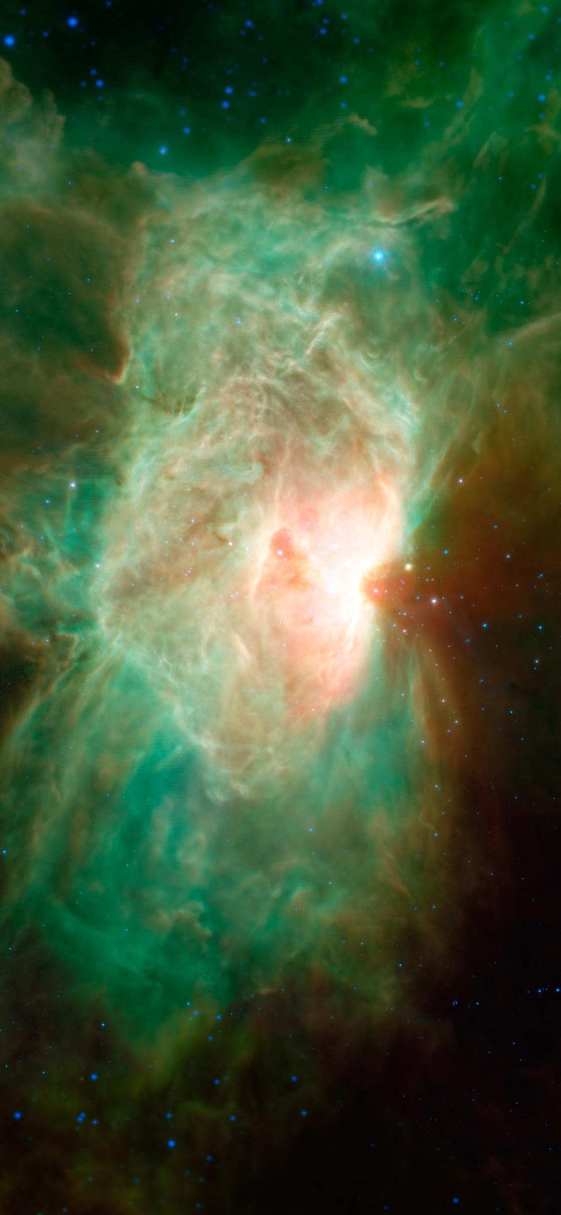馬頭星雲のスマホ壁紙