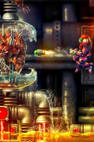 メトロイドテレビゲーム壁紙