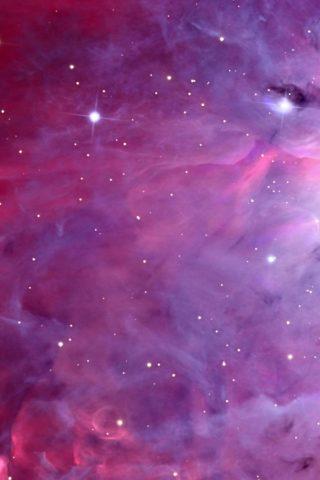 スペース星雲のスマホ壁紙