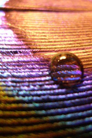 水滴のモバイル壁紙