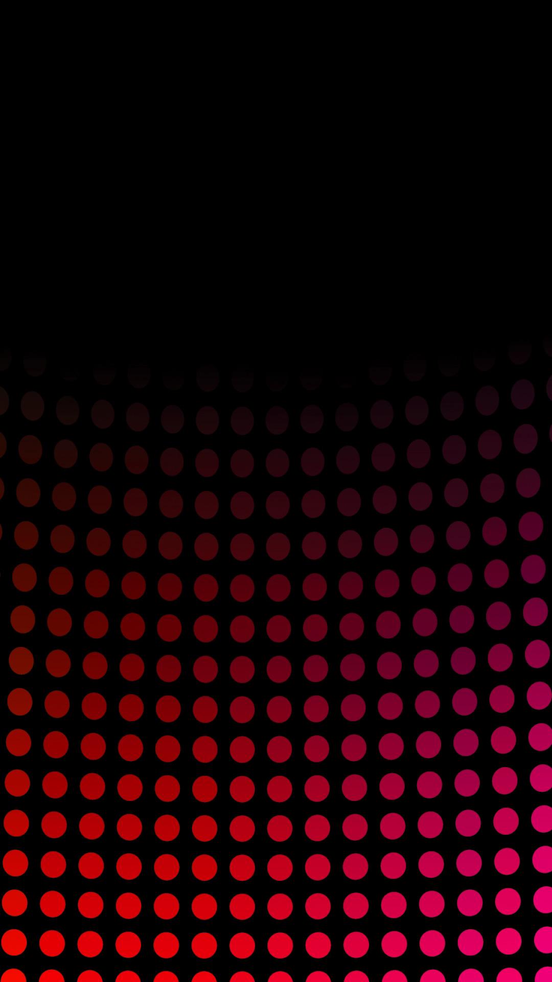 黒と赤の抽象的なパターンモバイル壁紙