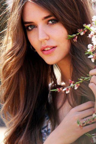 Clara Alonso(クララ・アロンソ)アルゼンチンの女優のモバイル壁紙