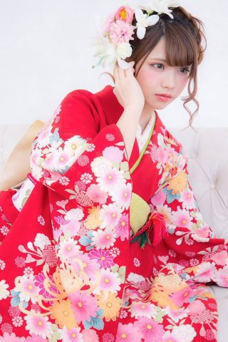 Enako(えなこ)着物コスプレの無料壁紙