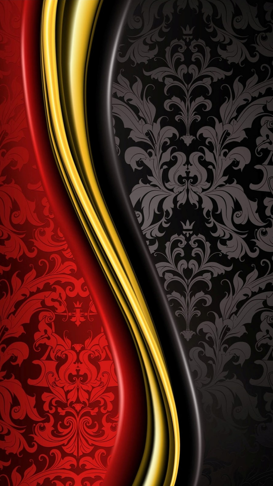 赤と黒の抽象的なパターンのスマホ壁紙 1080 19 テクスチャ Iphoneチーズ