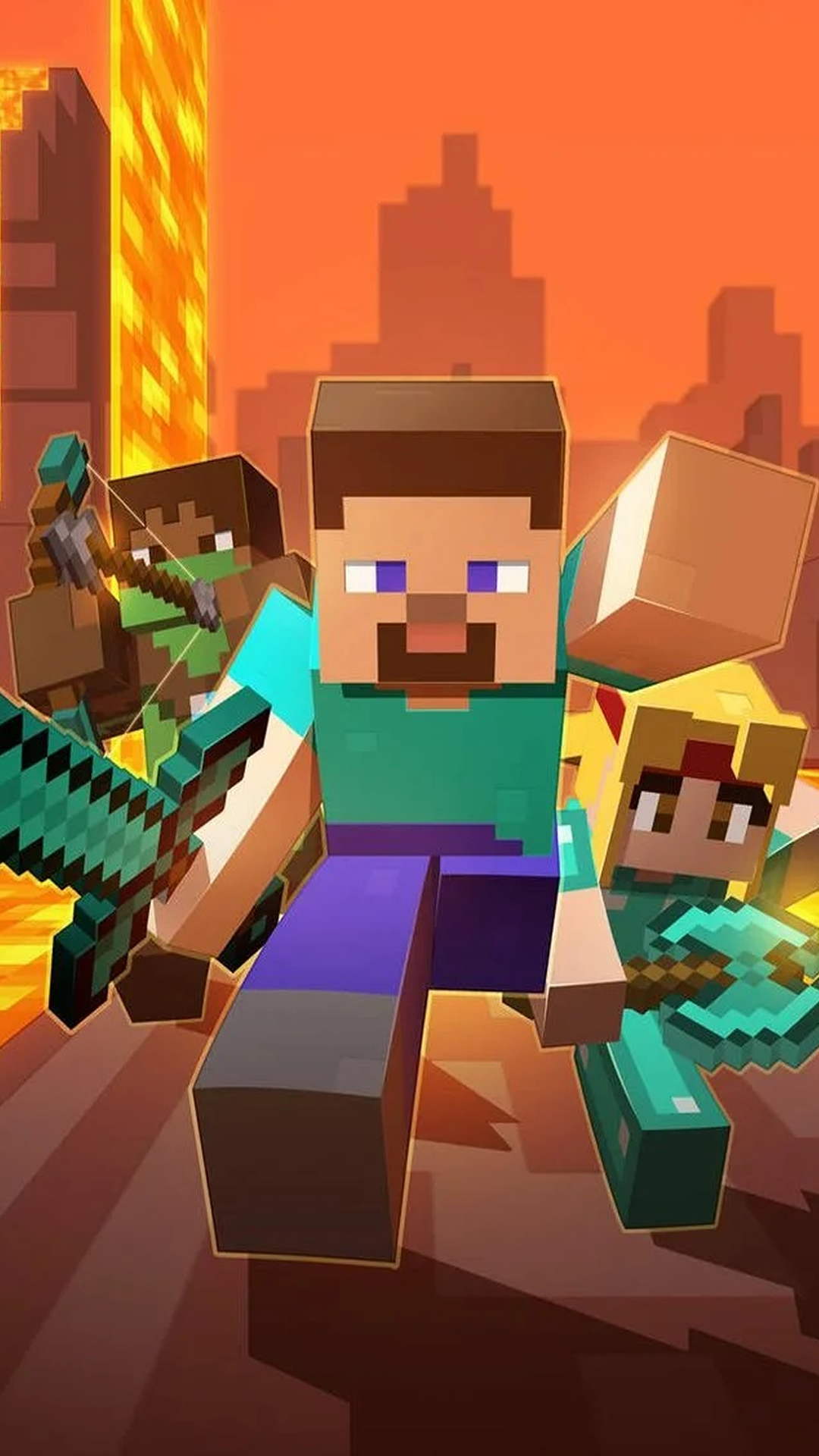 『Minecraft』マインクラフト 2021 スマホ壁紙