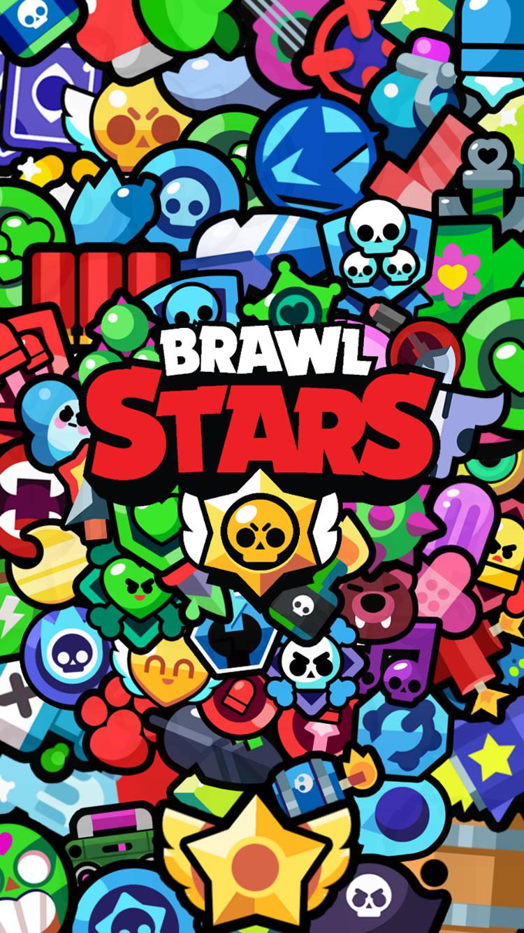 ブロスタiPhone壁紙 (Brawl Stars)